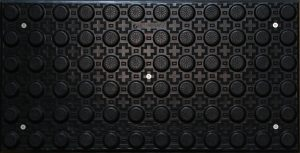 CIP Hazard Black 300x600